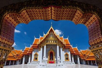 Tradycyjny tajski architektura, Wat Benjamaborphit lub marmur Temp
