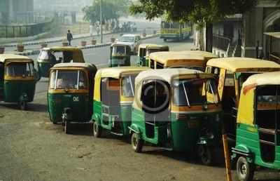Obraz Transport w New Delhi
