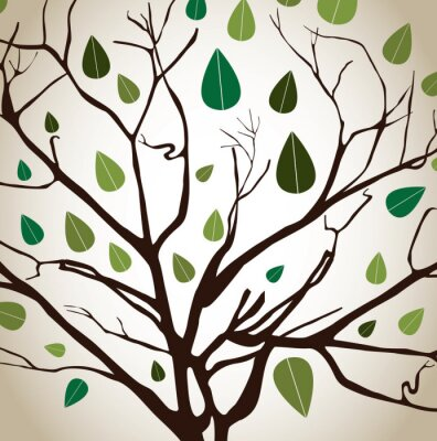 Obraz tree design