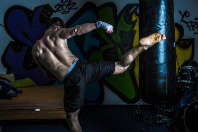 Obraz Trening Muay Thai
