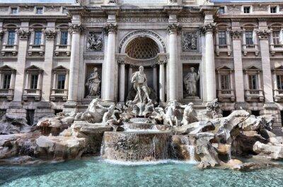 Obraz Trevi fountain in Rome