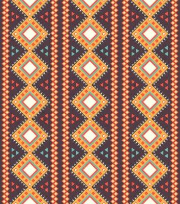 Obraz Tribal paski szwu.
