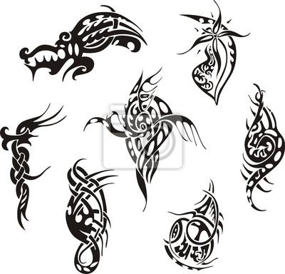 Tribal Tatuaż Wzory Obrazy Redro