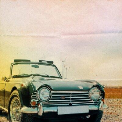 Obraz Triumph Background Oldtimer