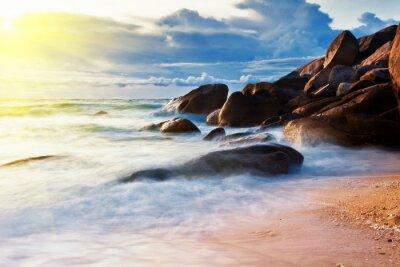 Tropikalna kolorowe słońca
