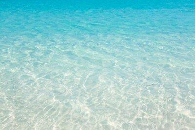 Obraz Tropikalna plaża tle wody