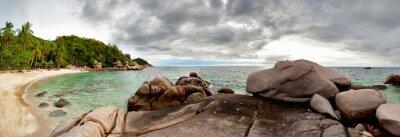 Tropikalna Wyspa - Tajlandia . panorama