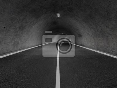 Obraz Tunel 3D rendering