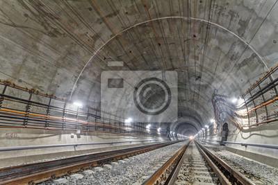 Tunel Beskidzki. Nowy tunel kolejowy w Karpatach, Ukraina