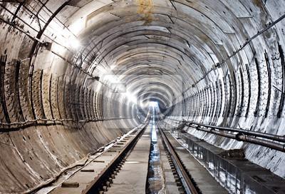 Tunel metra w budowie. Kijów, Ukraina. Kijów, Ukraina