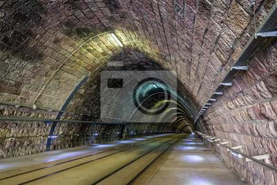 Tunel tramwajowy w Bratysławie - Słowacja