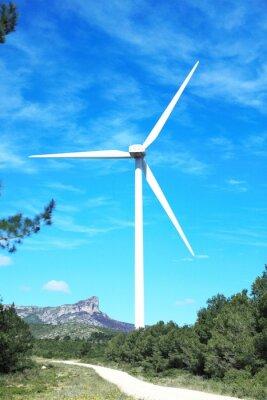 Obraz Turbiny wiatrowe farmy w Hiszpanii