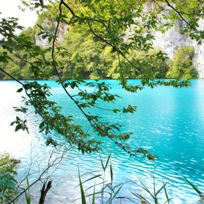 turkusowe jezioro (Chorwacja)