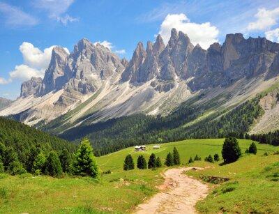 Obraz Turystyka ścieżkę w Alpach