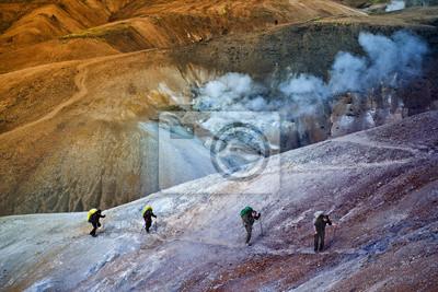 Turystyka w górach Islandii