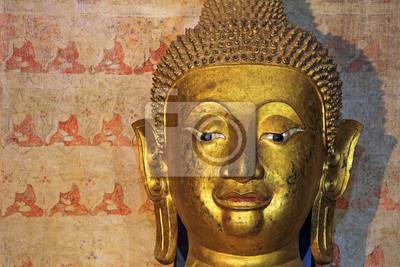 Twarz Buddy, Wat Chang Kham, Nan prowincji, Tajlandia