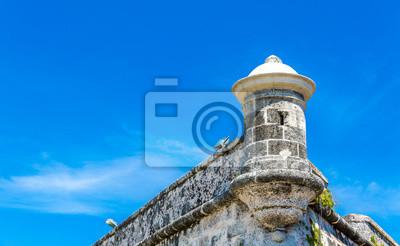 Obraz Twierdza El Morro w Hawanie, Kuba
