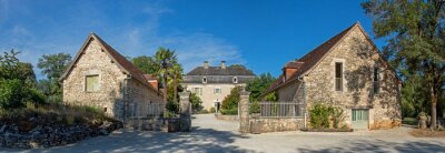 Obraz Typical countryside mansion, or