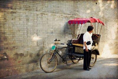 Obraz Typowe azjatyckie riksza