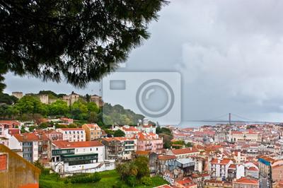 Ulewa w Lizbonie
