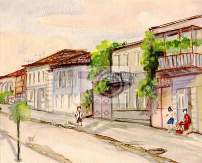 Obraz Ulica w Batumi