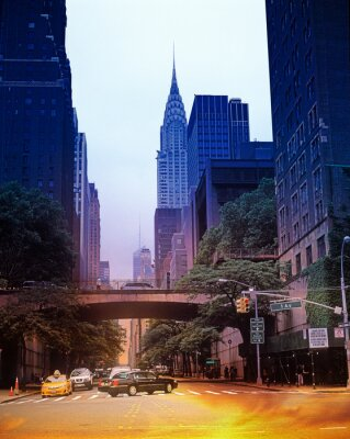 Obraz Ulice Nowego Jorku.