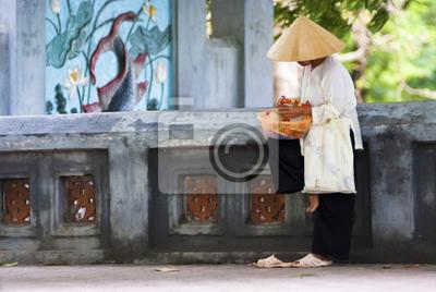 Uliczny w Hanoi