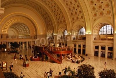 Obraz Union Station in Washington DC
