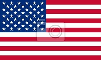 Obraz usa fahne Stany Zjednoczone flag