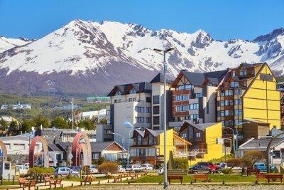 Ushuaia, the capital of Tierra del Fuego Province, Argentina.