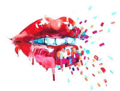 Obraz usta