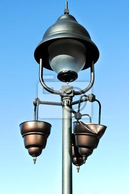 Obraz Uszkodzone lampy uliczne
