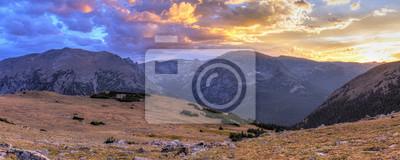 Ute Crossing Sunset Panorama