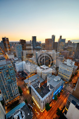 Vancouver Widok na dachu