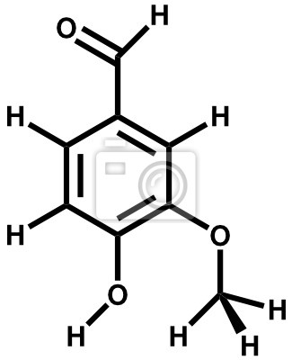 Vanillin strukturalny