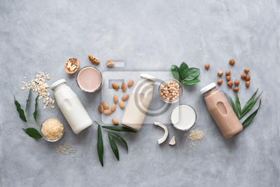Obraz Various plant based milk