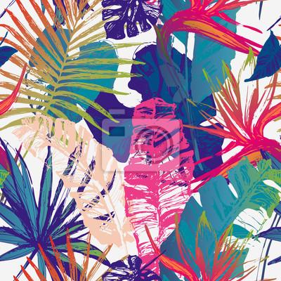 Vector art illustration in bright gradient colors