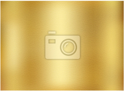 Obraz Vector gold blurred gradient style background.