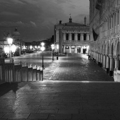 Obraz Venezia Długie przebywanie w nocy.