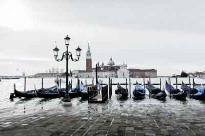 Obraz Venise Gondole Romantyczna amour amoureux lagune