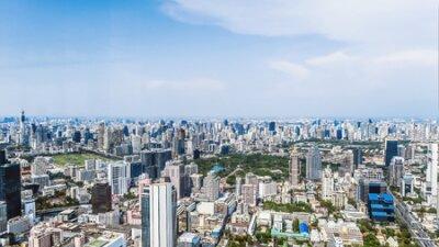 Obraz View of Bangkok city