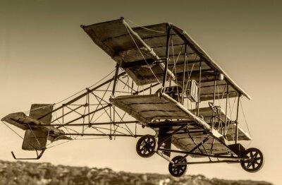 Obraz Vintage Bi-Plane Model airplane