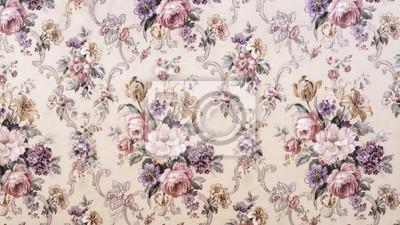 Obraz Vintage kwiatowy wzór