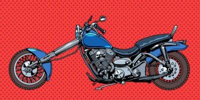 Obraz Vintage motorcycle bike