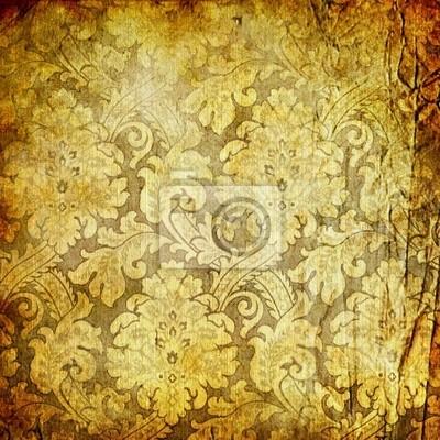 vintage papier golde