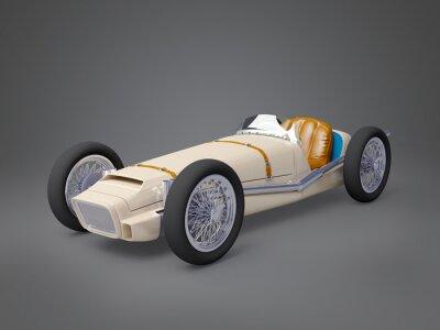 Obraz vintage racing car