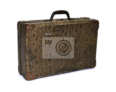 vintage, shabby Koffer, Case, Reisekoffer