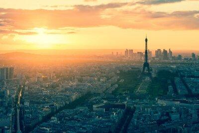 Obraz Vintage styl Paris skyline