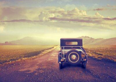 Obraz Vintage turystyczna