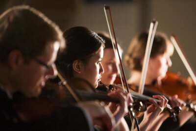 Obraz Violinists performing